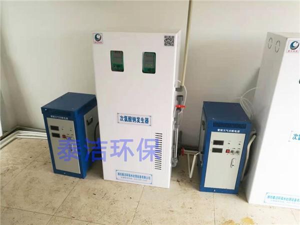 重庆市水厂采用次氯酸钠发生器进行饮用水消毒