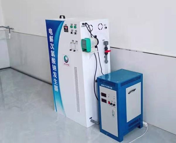甘肃省平凉市泾川县水利局采用我司100克次氯酸钠发生器进行自来水消毒处理,处理过的水质达标,并投入正常使用。